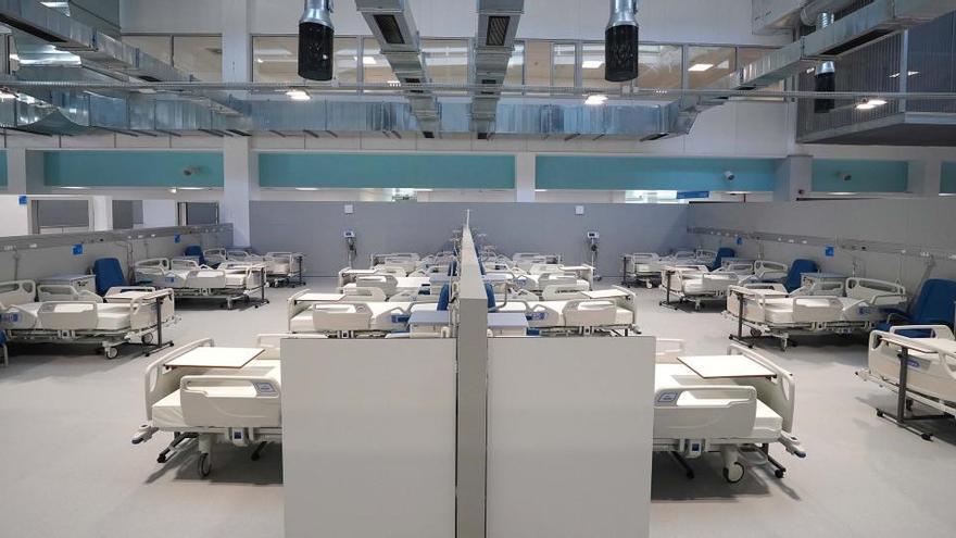 El Zendal prepara su tercer pabellón, con 352 camas más de hospitalización