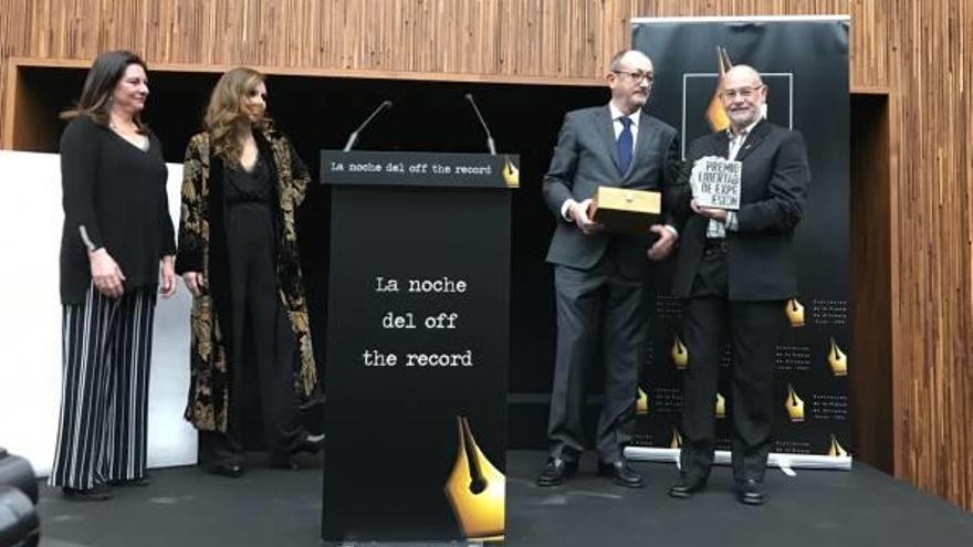 Enrique Pérez, Premio Libertad de Expresión de  la Asociación de la Prensa