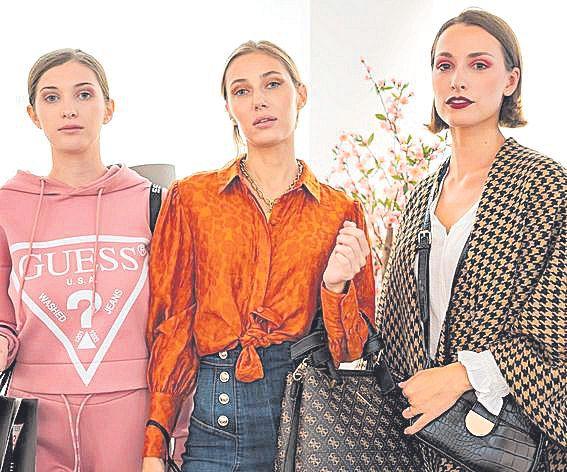 Las modelos Paulina Paffenholz, Karina Kondratenko y Katya Butsko.