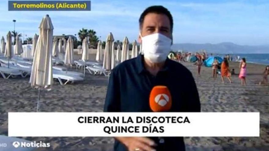 'Antena 3 Noticias', criticado por el tremendo error geográfico en el rótulo