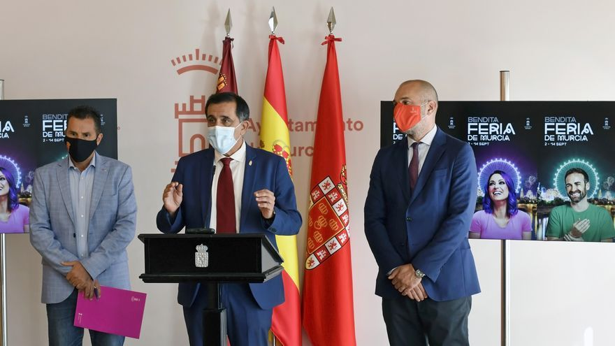 """Una Feria de Murcia """"moderada"""" que han disfrutado más de 385.000 personas"""