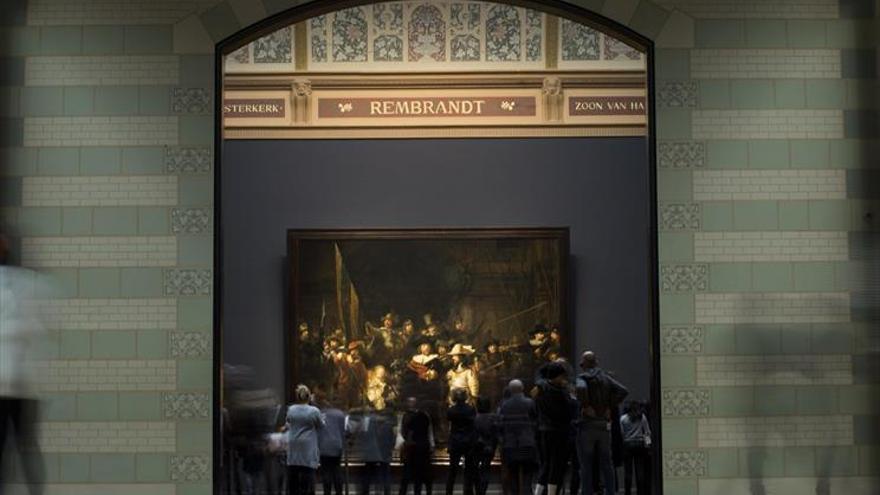 Holanda se vuelca con Rembrandt