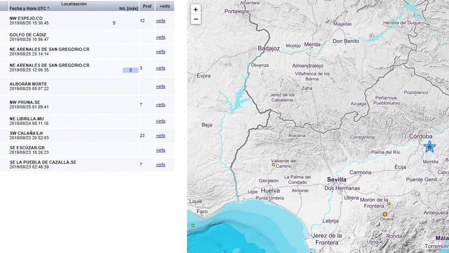 Un terremoto de 2,9 grados se deja sentir en Espejo