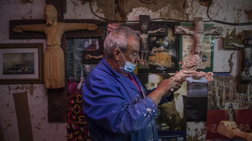 El zamorano Francisco Moldón, un artesano de otro siglo