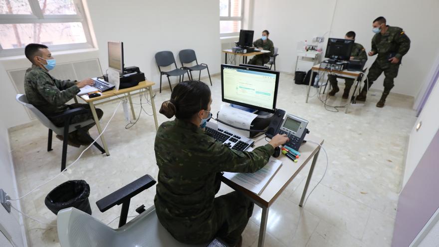 Aragón vuelve a pedir la  ayuda de los rastreadores militares