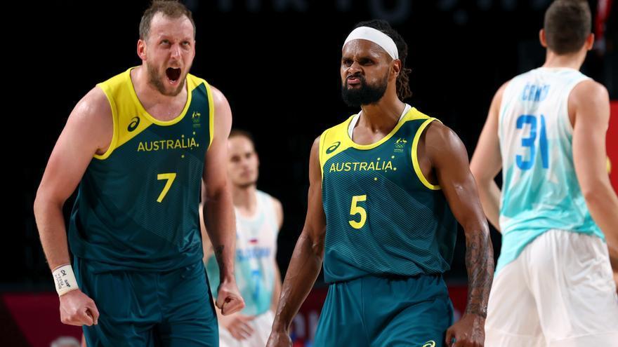 Mills deja sin medalla a Doncic y se lleva el bronce a Australia