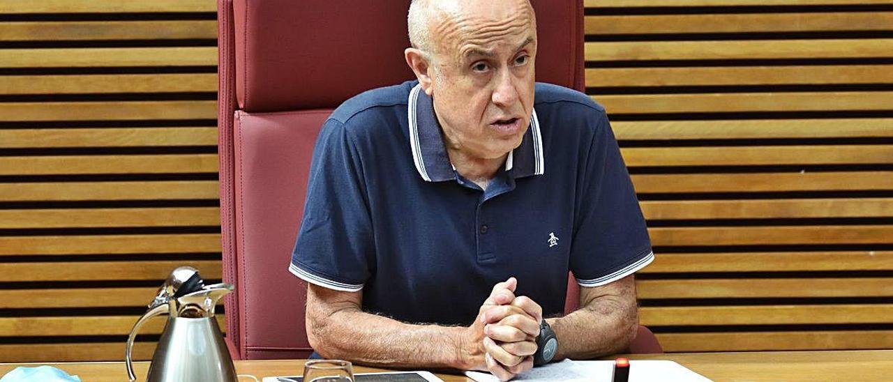 Eduardo Zafra, sanitario y presidente de Acdesa.