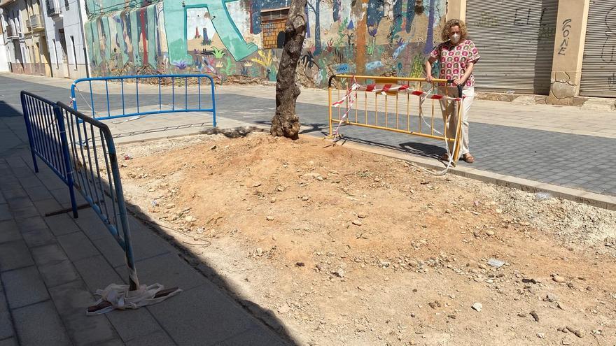 El PP de Torrent pregunta cuándo acabarn la obra de la Plaza de las Fuentes