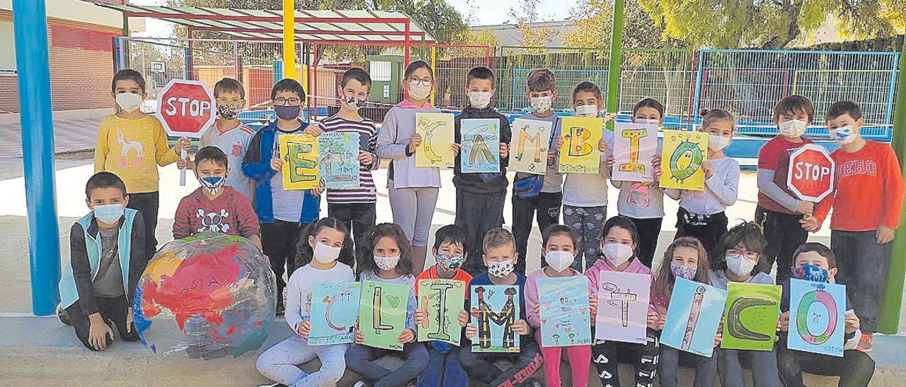 Escolares contra el cambio climático