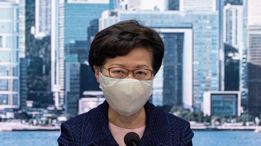 EEUU sanciona por represión a la jefa ejecutiva de Hong Kong y a otros 11 altos cargos