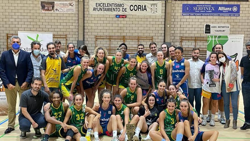 Las caras de los equipos extremeños en la Liga Femenina Challenge