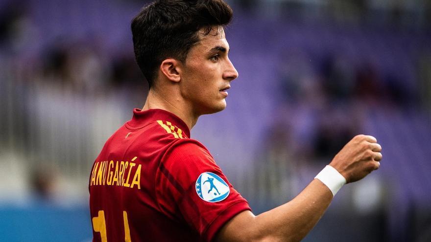 """Así ve el seleccionador sub-21 a Manu García: """"Siempre confié mucho en sus condiciones"""""""