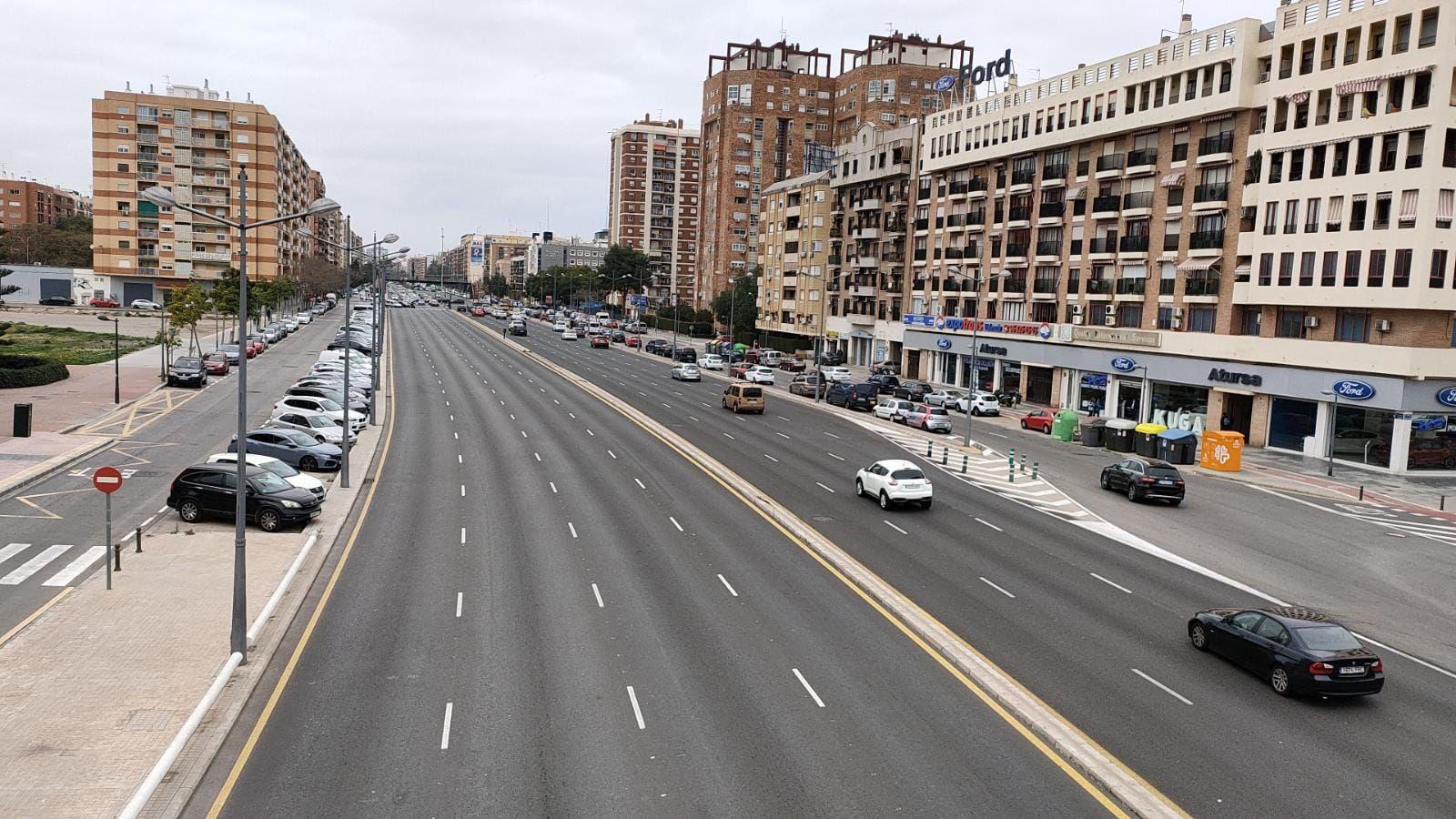 Normalidad en el segundo fin de semana de confinamiento en València