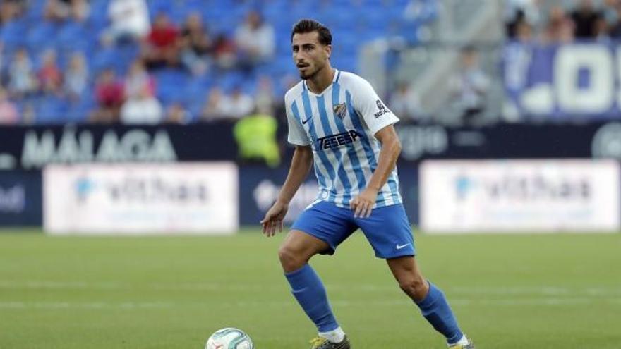El Oviedo pugna por Luis Muñoz, al que el Málaga ofrece la renovación