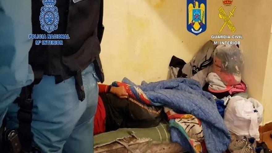 Desarticulada en Sevilla una red de explotación y trata de personas