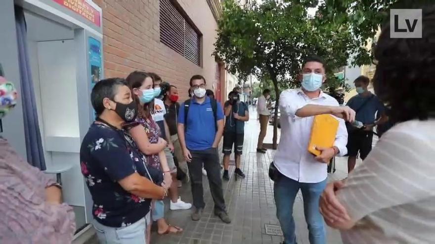 Familiares retiran a residentes del geriátrico de Llíria mientras la Fiscalía investiga