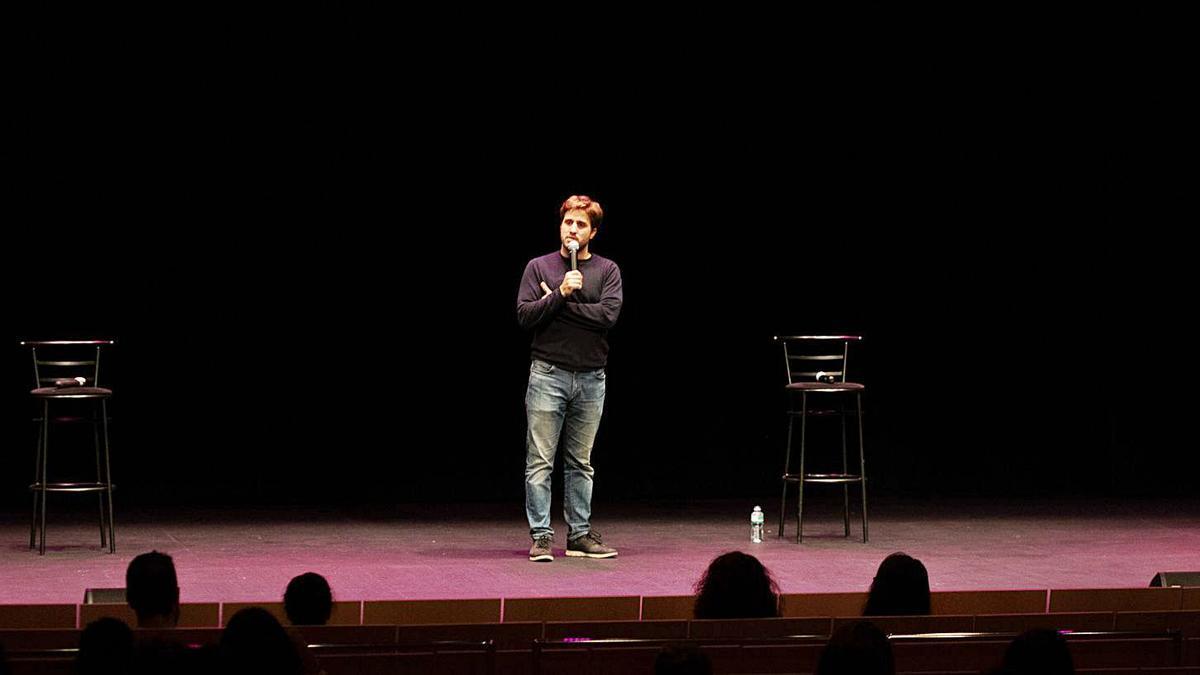 Pablo Ibarburu divierte a los zamoranos con su nuevo show.