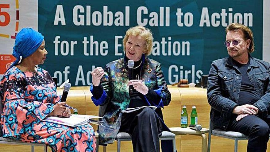 Bono, en defensa de la educación igualitaria