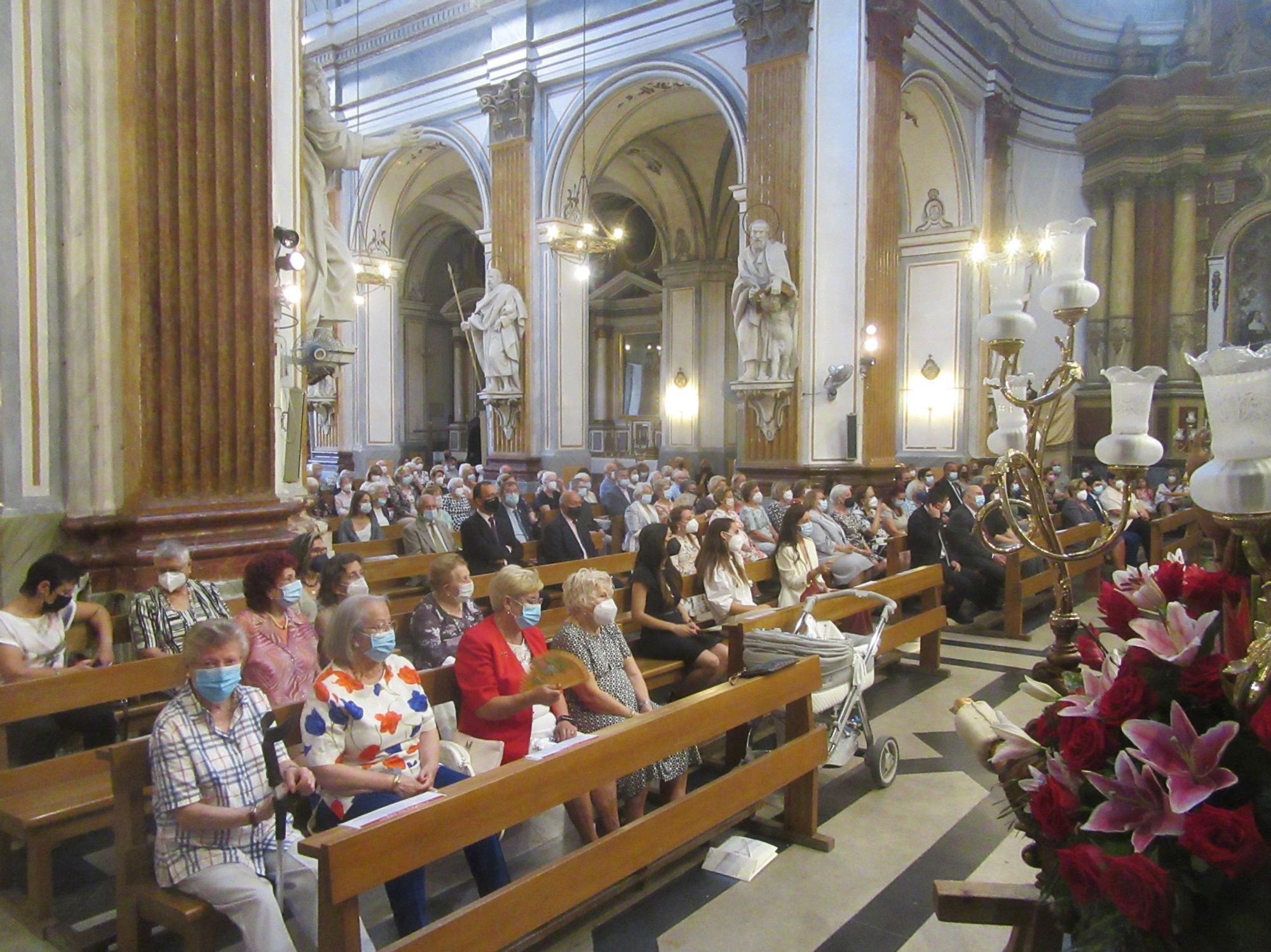 Burjassot culmina con la Pujà las fiestas en honor de su Patrona
