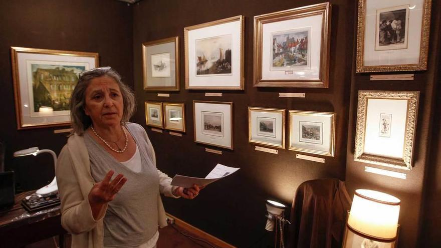 La galería Gainsborough cuelga grabados de Goya, Dalí, Rembrandt y Van Dyck
