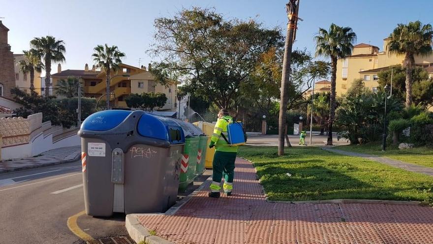 Los ayuntamientos redoblan los esfuerzos en tareas de desinfección
