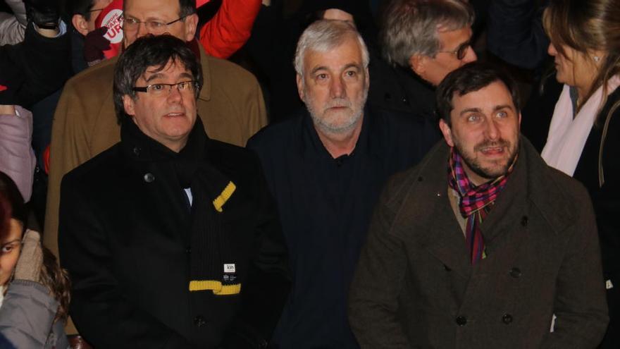 Puigdemont posa el seu amic Matamala de cap de llista al Senat per Girona