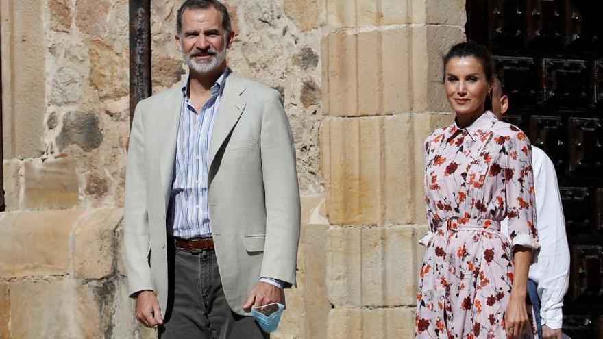 Visita de los Reyes a Soria