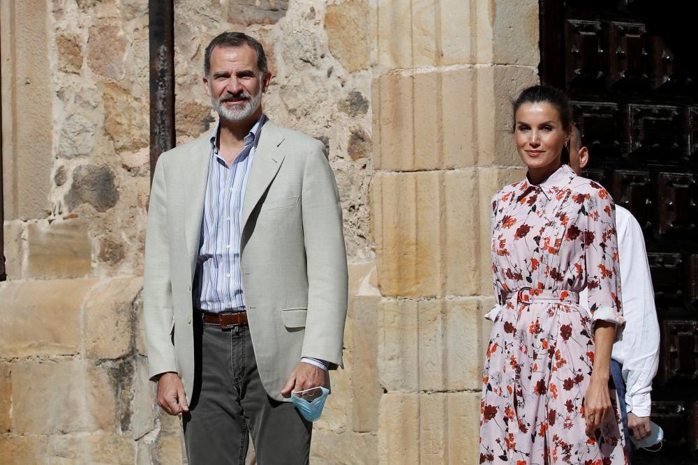 Visita de los Reyes a Soria.