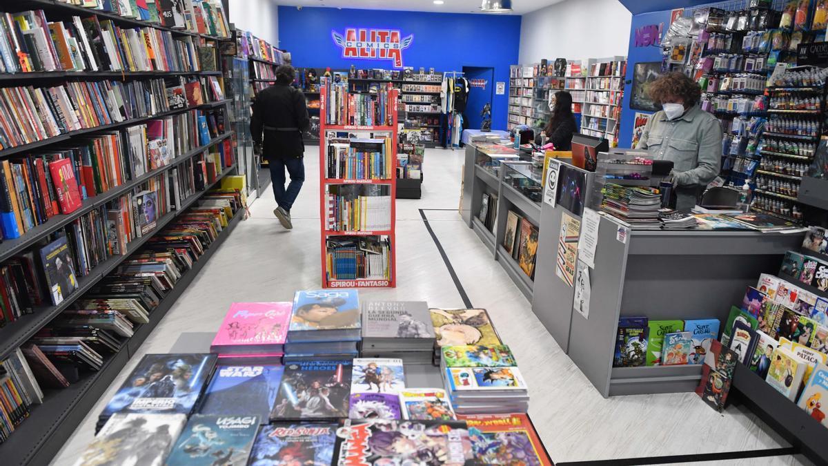 Librería Alita, que sufrió un robo de libros en febrero.