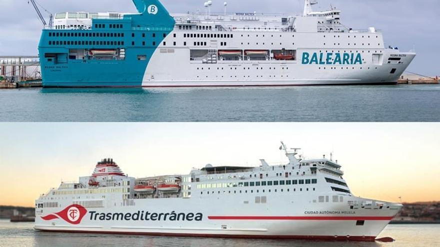 Trasmediterránea gana el concurso marítimo de Melilla con Málaga y Balearia con Almería y Motril
