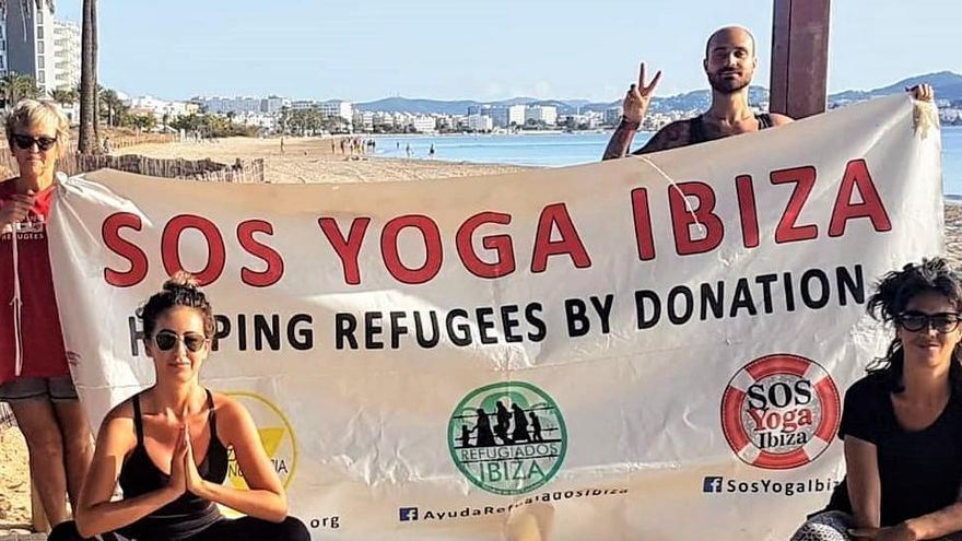 La Asociación Ibiza Conciencia recauda 2.500 euros a favor de SOS Refugiados España