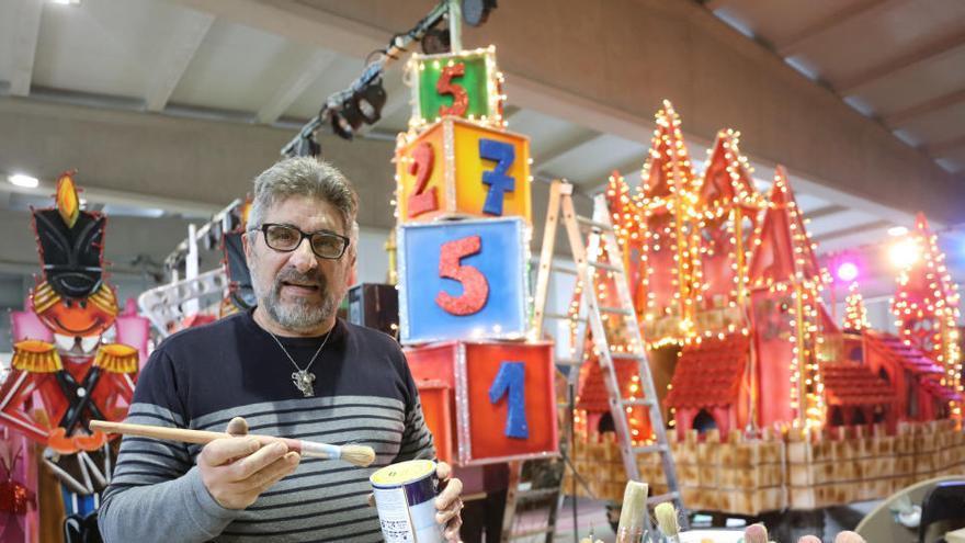 Fallece Daniel Paz, el artífice de las carrozas de los Reyes Magos en Ibiza