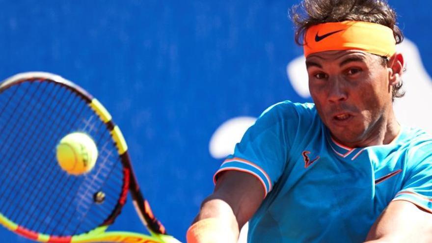Nadal sufre para ganar a Mayer en su debut en el Godó