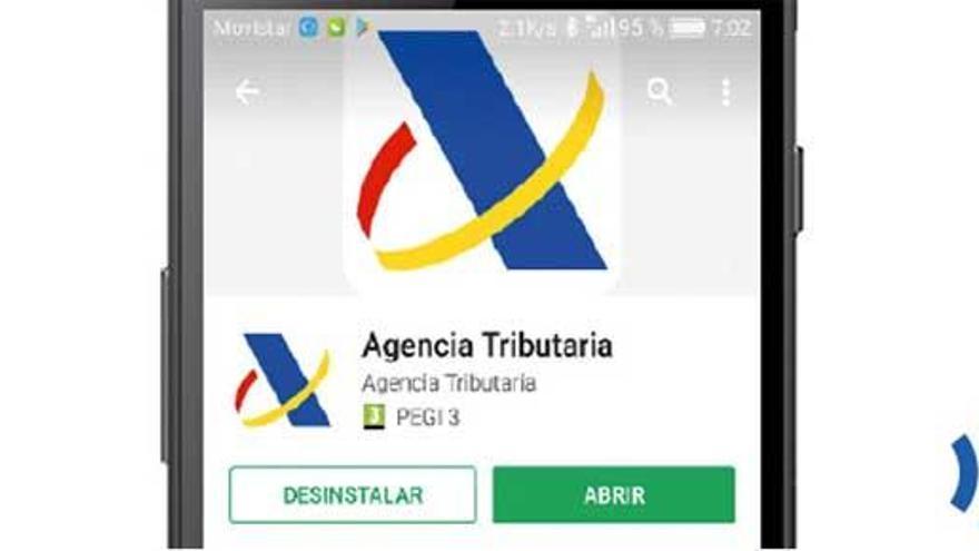 Así se descarga y se usa la 'app' de Agencia Tributaria
