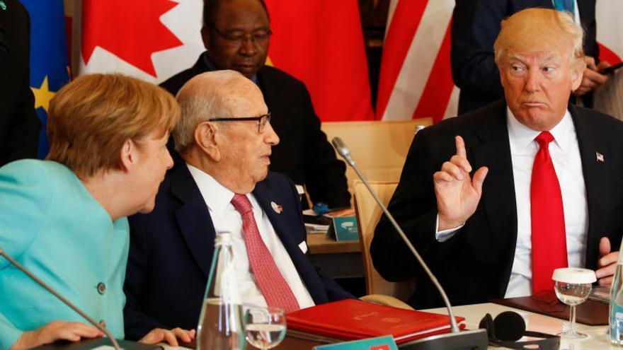 EEUU se desmarca del compromiso del G7 para aplicar el Acuerdo de París