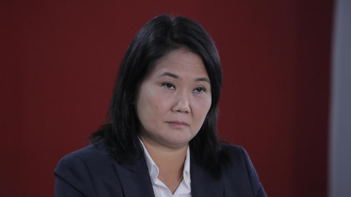 La candidata peruana Keiko Fujimori.