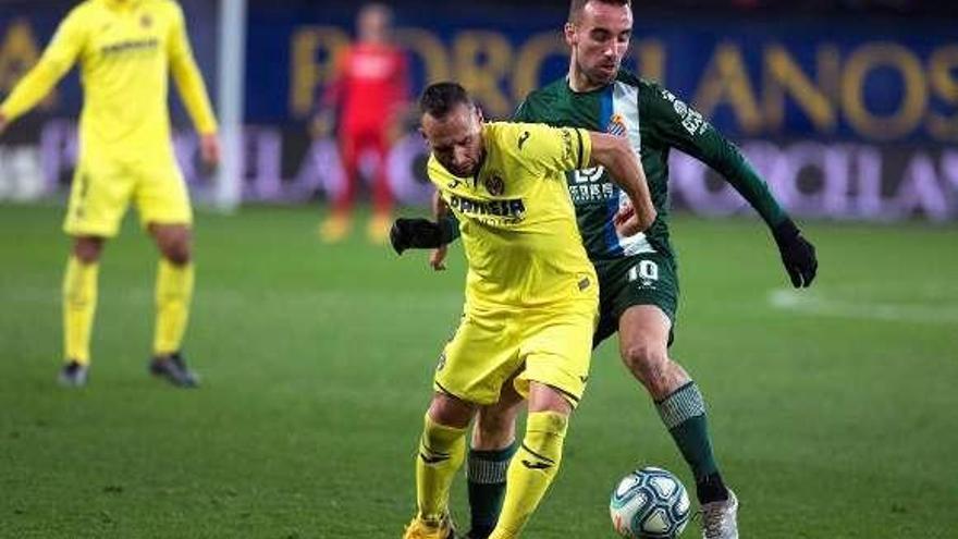 El Espanyol toma aire en Villarreal