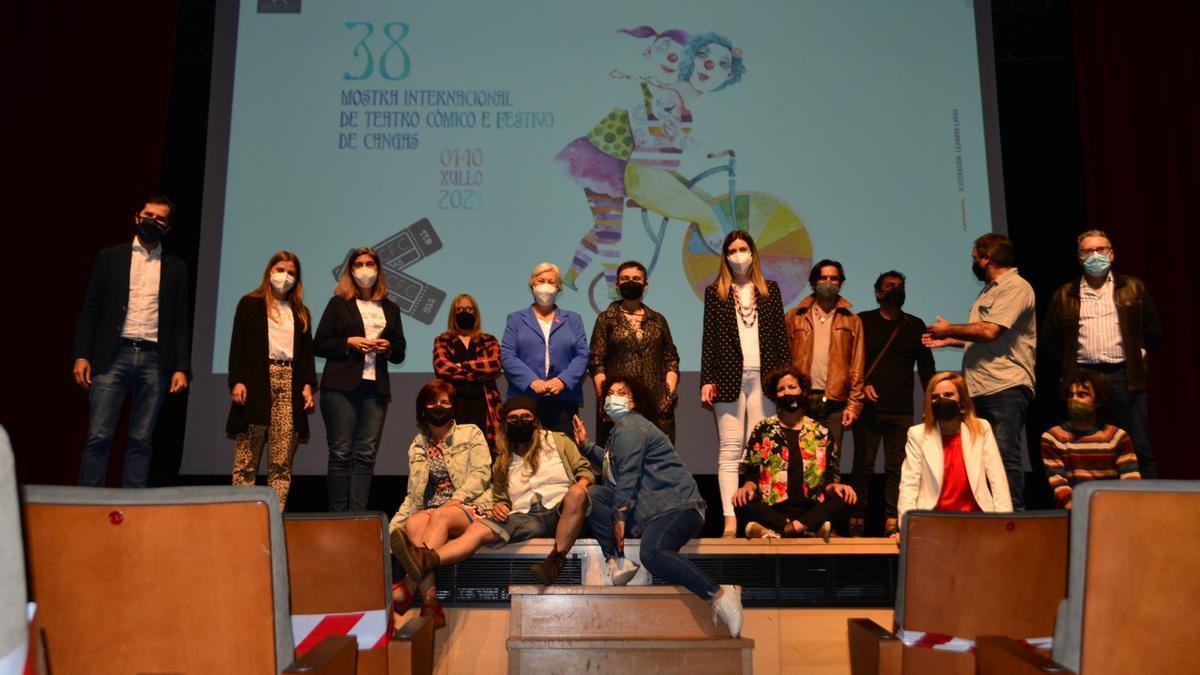 Presentación de la Mostra de Teatro de Cangas