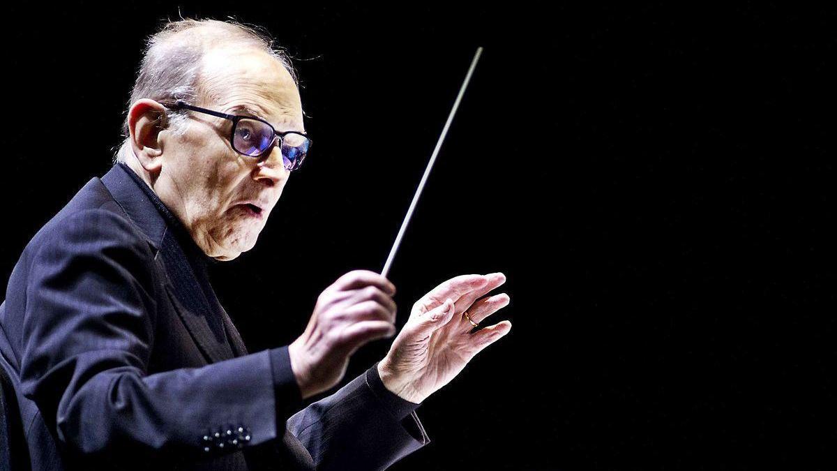El compositor italiano Ennio Morricone.