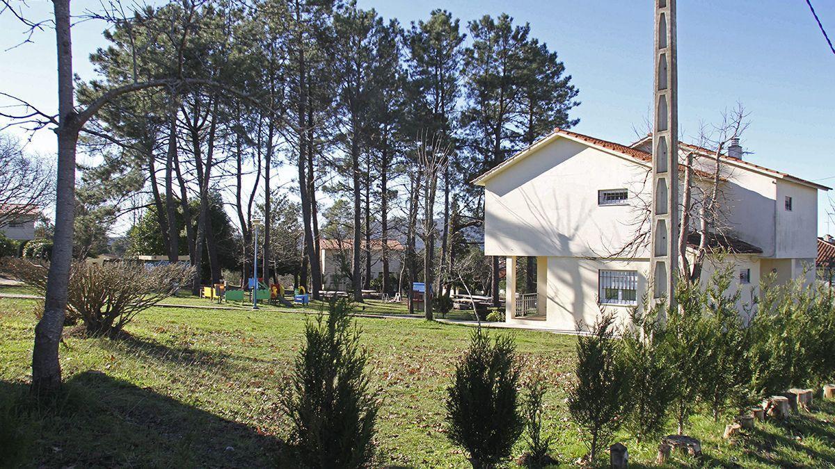 El Centro de Aldeas Infantiles en Redondela.