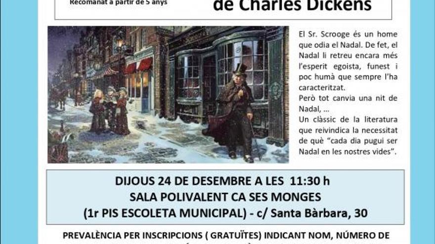 Conte de nadal de Charles Dickens