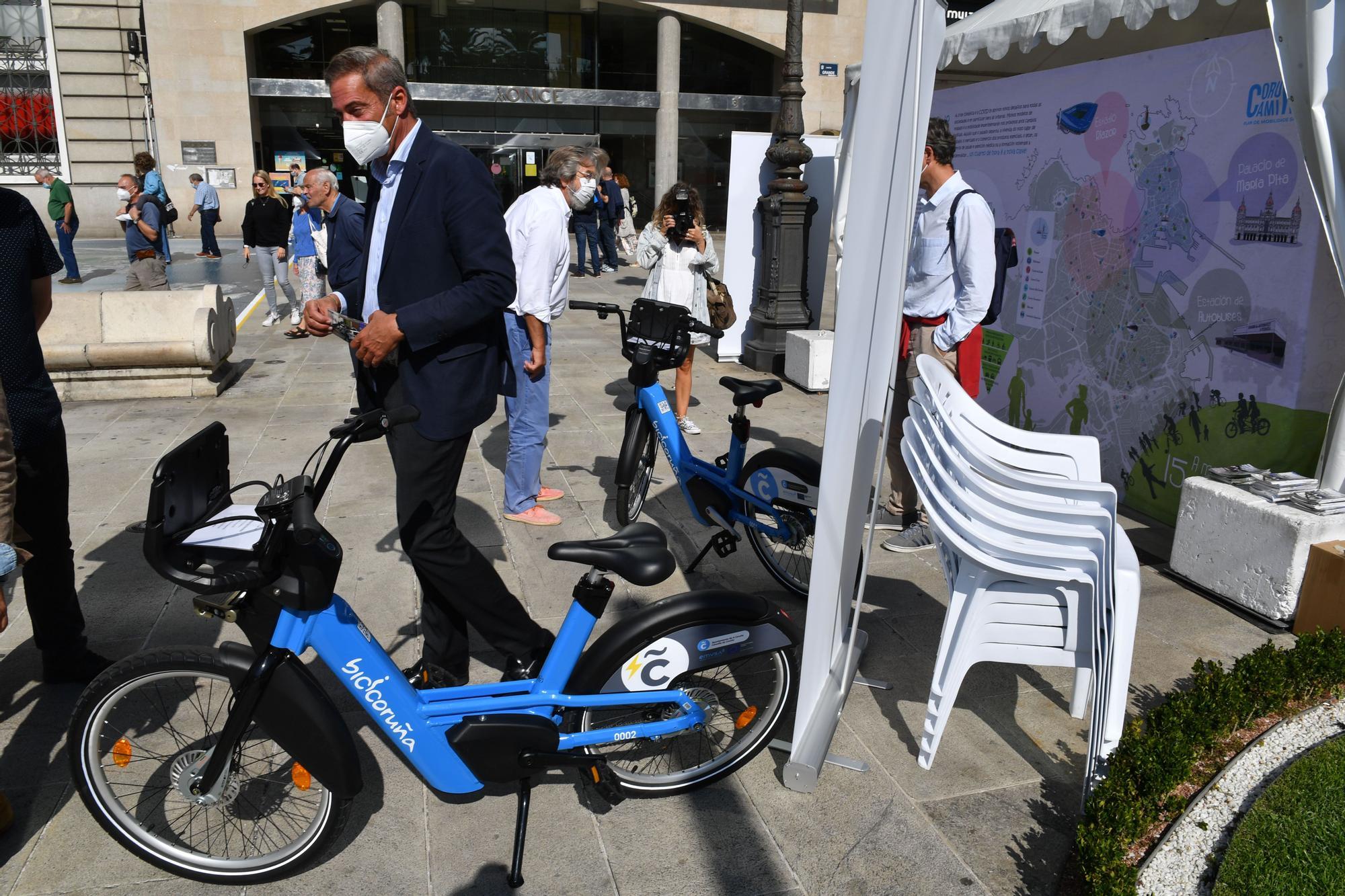 A Coruña inaugura la Semana Europea de la Movilidad