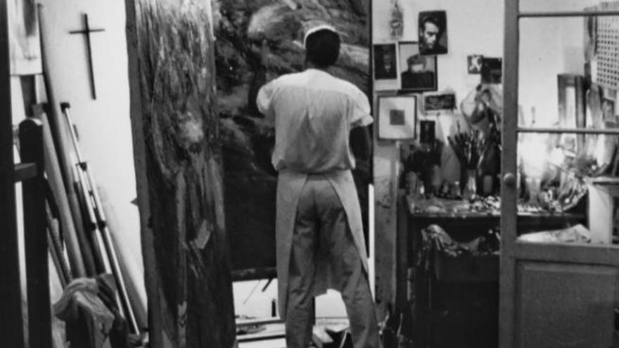 Fallece el pintor grancanario Mario Antígono
