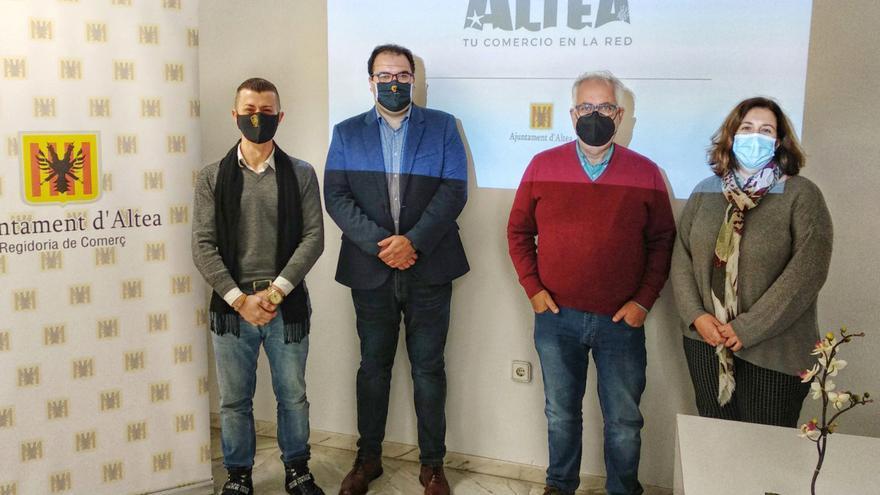 """Altea crea una plataforma """"on-line"""" para el comercio local por iniciativa del Ayuntamiento"""