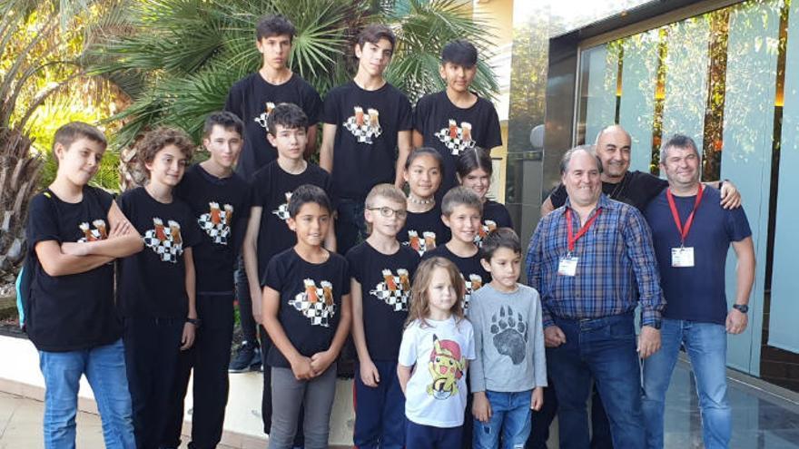 Èxit del Club Escacs Alt Empordà al Campionat de Catalunya