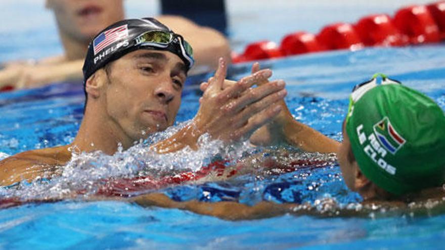Schooling arrebata a Phelps su vigésimo tercer oro