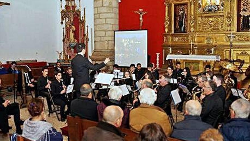 La Escuela Alistana de Folclore ofrece un concierto de la Pasión de Zamora