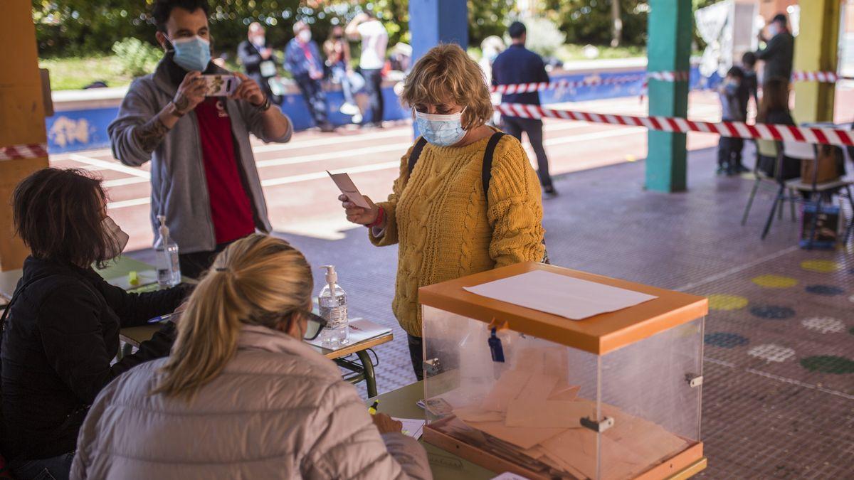 Elecciones en Madrid.
