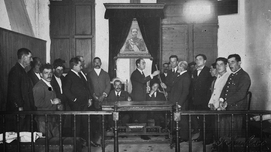 A proclamación da II República en Moaña