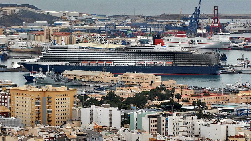 Las 'reinas' de la naviera Cunard regresan a Canarias este otoño
